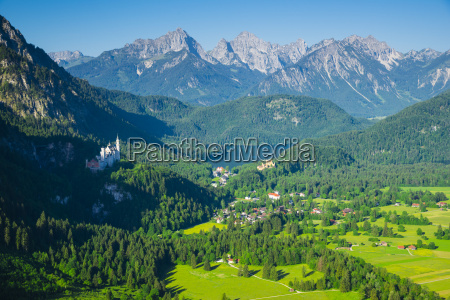 germany bavaria east allgaeu hohenschwangau and