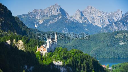germany bavaria east allgaeu neuschwanstein castle