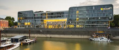 germany cologne rheinauhafen microsoft office building