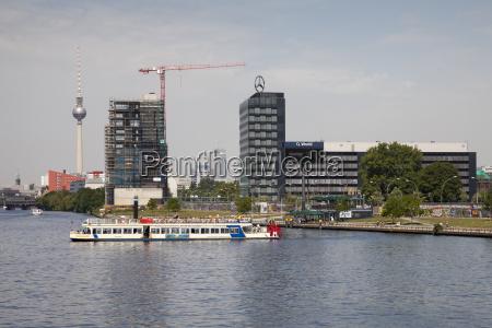 germany berlin berlin friedrichshain spree river