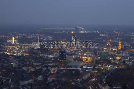 germany dortmund view from the television