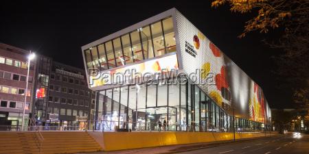 germany dortmund lighted german football museum