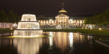 germany hesse wiesbaden kurhaus casino and