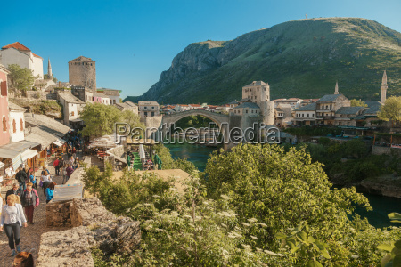 bosnia and herzegovina mostar old town