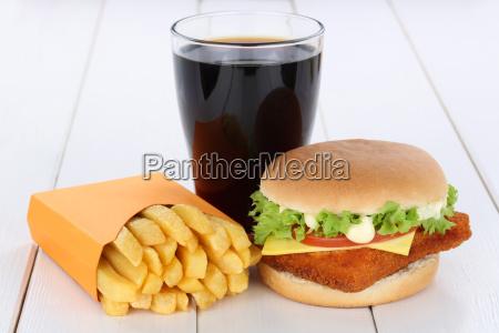 fischburger fisch burger backfisch hamburger menu