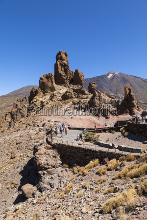 spain view of teide national park