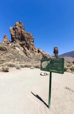 spain view of roques de garcia
