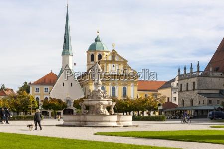 germany bavaria upper bavaria altoetting chapel