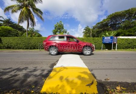 karibik kleine antillen saint lucia auto
