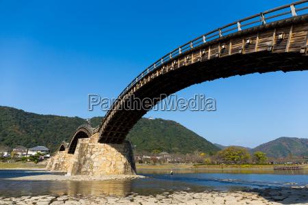 traditional old kintai bridge