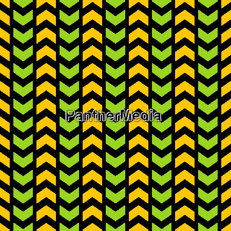 tile vector chevron pattern with green