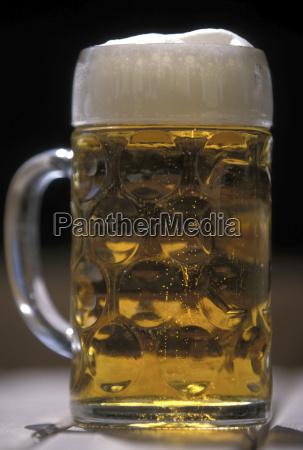 a mass bier jug of beer