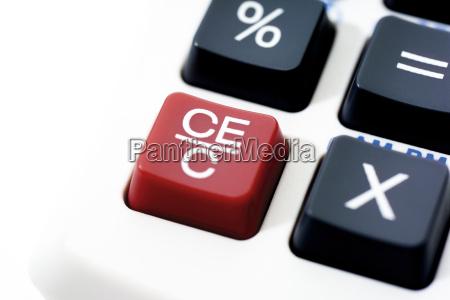desk calculator keys