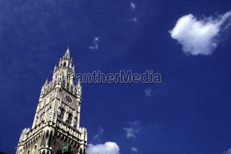 rathausturm old city hall tower munich