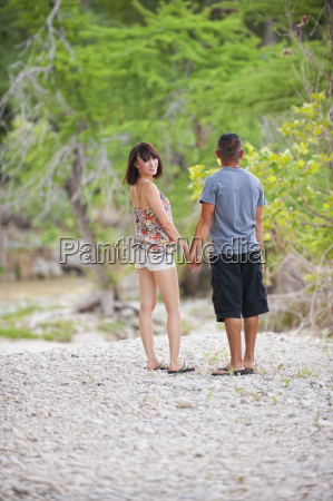 usa texas leakey young couple standing