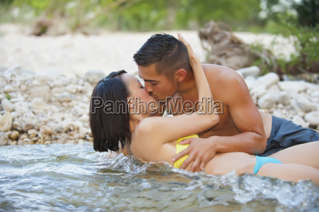 usa texas leakey young couple kissing