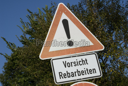 germany baden wuerttemberg road sign road