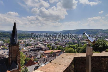europe germany hesse view of stmarienkirche