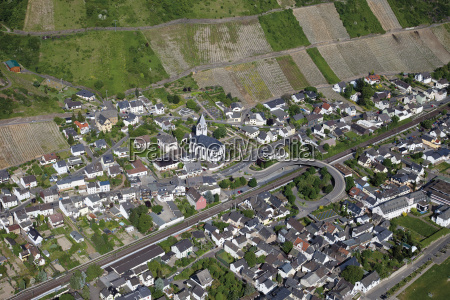 europe germany rhineland palatinate leutesdorf view