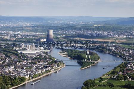 europe germany rhineland palatinate neuwied view