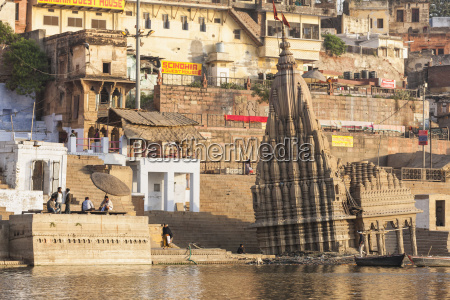 india uttar pradesh banaras view of