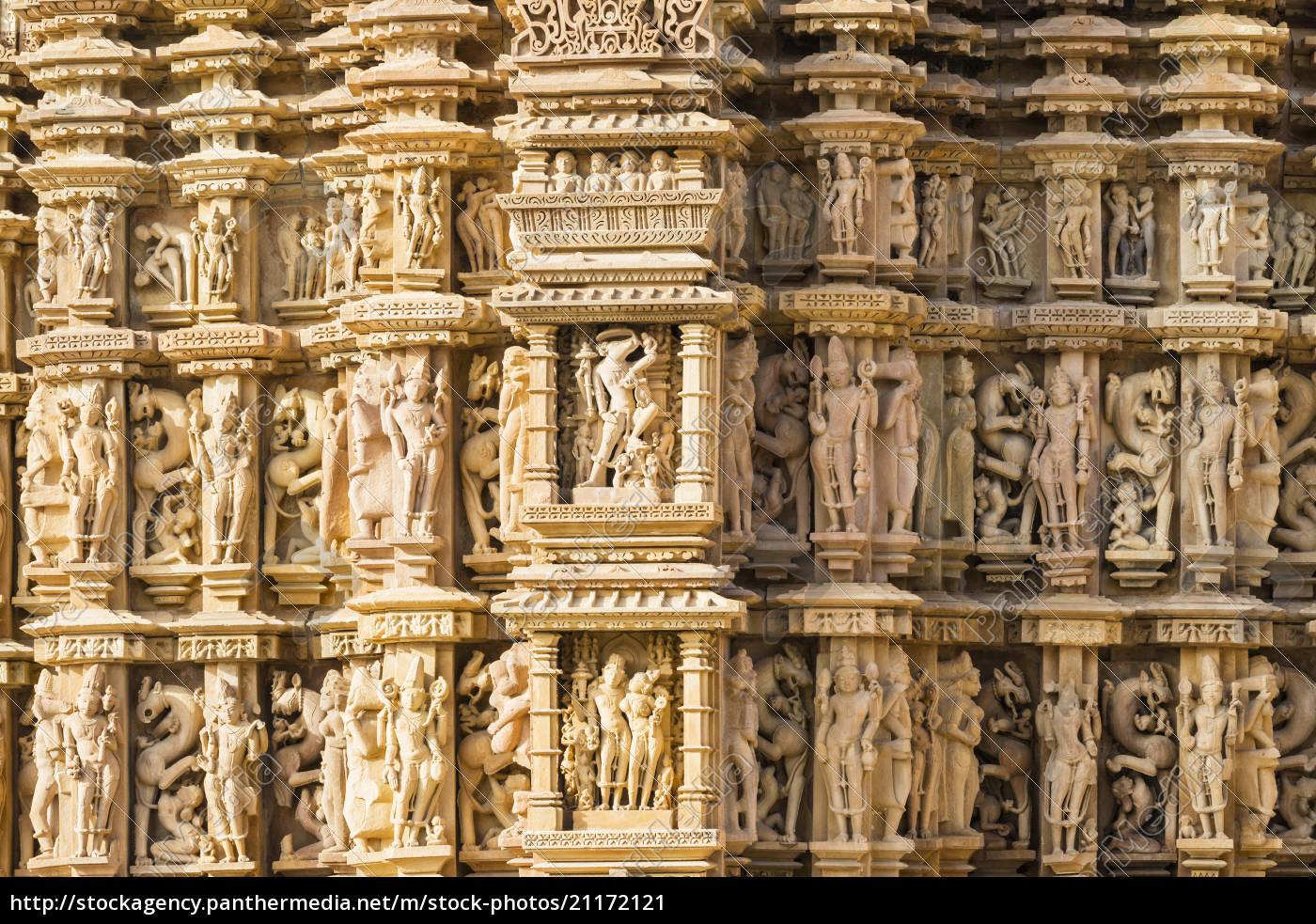 indien, madhya, pradesh, erotische, szene, und, details, im - 21172121