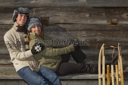 austria salzburger land altenmarkt young couple