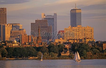 boston skyline usa