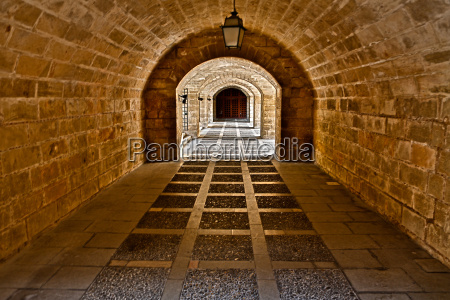 spain palma mallorca view of hallway