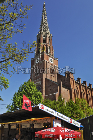 germany bavaria munich maria hilf church