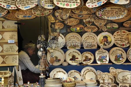 germany munich auer dult traditional fair