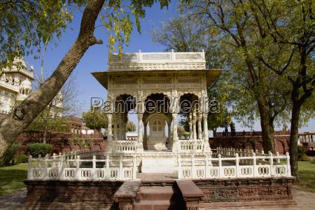 india rajasthan jodhpur jaswant thada memorial