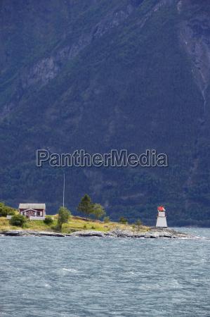 norwegen fjord norwegen laerdalsfjord