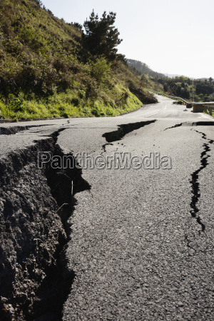 spain basque country view of damaged
