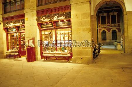victor montes plaza nueva with arcades