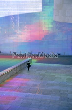 quantum field x3 guggenheim museum bilbao