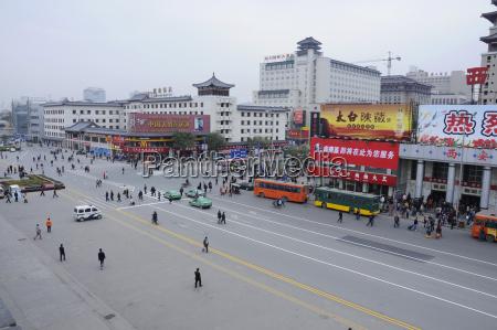 china xian road