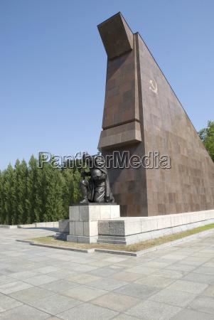 germany berlin treptower park soviet war