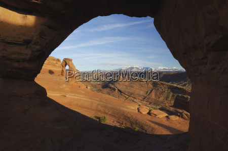 usa utah arches national park delicate