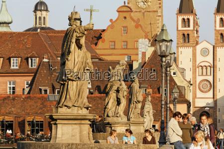 germany bavaria lower franconia wuerzburg people