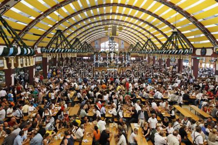 germany bavaria munich people celebrating oktoberfest