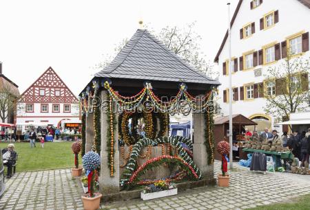 deutschland bayern franken fraenkische schweiz hollfeld