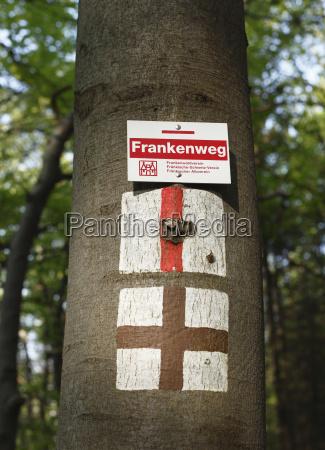 deutschland bayern franken oberfranken fraenkische schweiz