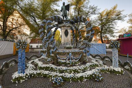 germany bavaria upper bavaria ingolstadt paradeplatz