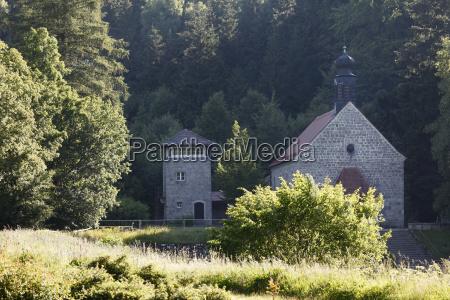 niemcy bawaria flossenbuerg widok miejsca pamieci