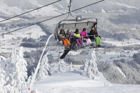 austria styria schladminger tauern people in