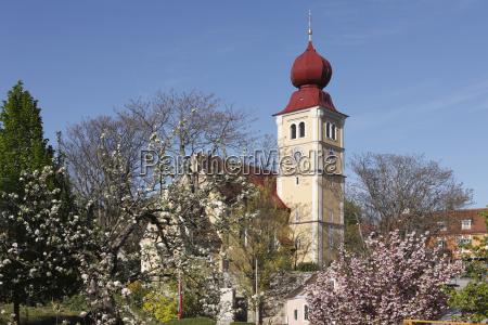 austria styria church at puch bei