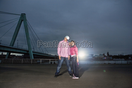 germany cologne couple standing in front