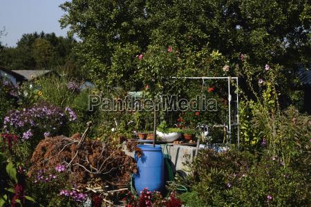 germany bavaria munich view of garden