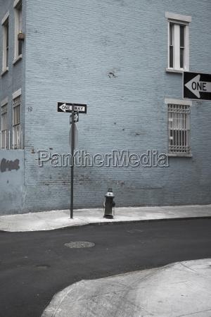 usa new york city street one